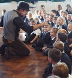 Half-term storytelling with Ian Douglas