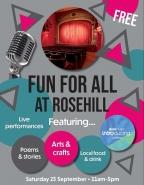Rosehill's free family fun day