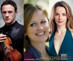An evening with Anna Tilbrook, Sarah Tynan and Matthew Trusler at Muncaster Castle