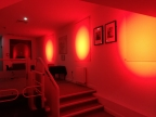 Glowing red for global campaign